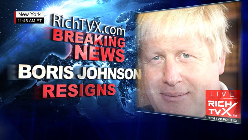 Boris Johnson has resigned as Foreign Secretary