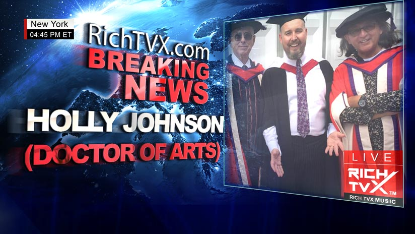 Frankie Goes to Hollywood star Holly Johnson receives honorary doctorate