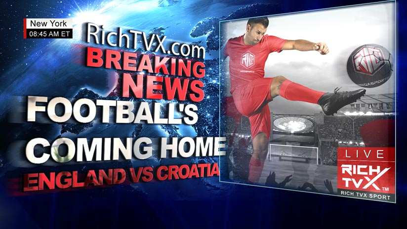Football's Coming Home – England vs Croatia