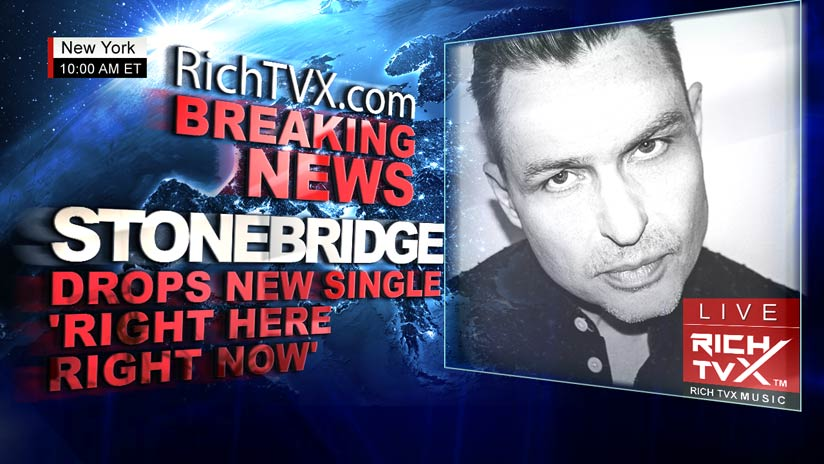 StoneBridge Drops New Single 'Right Here Right Now'