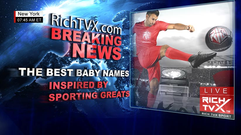 The best baby names inspired by sporting greats