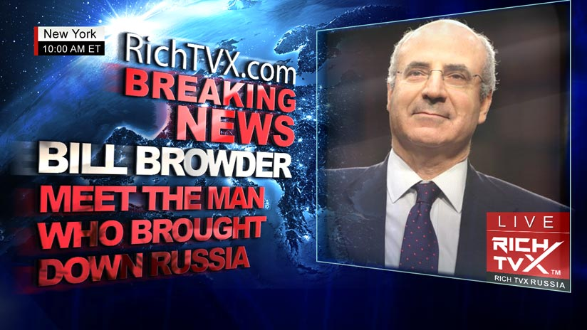 Meet Bill Browder the Man Who Brought Down Russia