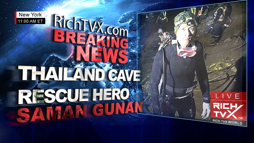 Fantastic News – All 12 Boys and Soccer Coach Rescued From Flooding Caves In Thailand