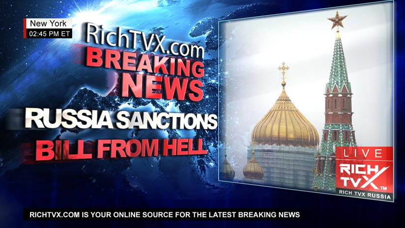 US Congress publishes Russia Sanctions 'Bill from Hell'