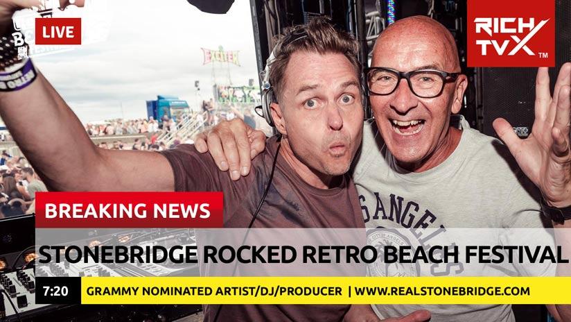 STONEBRIDGE Rocked Retro Beach Festival 2018