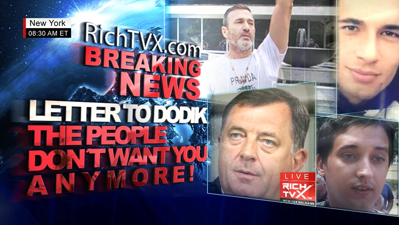 Letter To Milorad Dodik