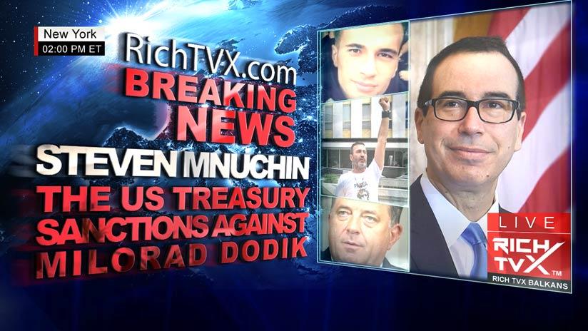 The U.S. Treasury Sanctions Against Milorad Dodik