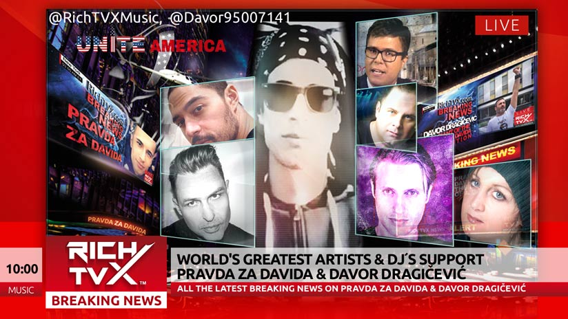 World's Greatest Artists & DJ´s support Pravda Za Davida