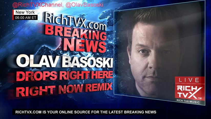"Olav Basoski Drops Insanely Funky Remix of StoneBridge´s ""Right Here Right Now"""