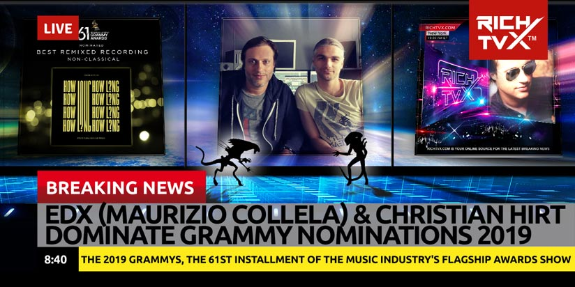 EDX Has Been Nominated For Best Remix For The Grammys