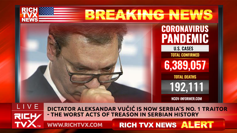 Dictator Aleksandar Vučić Is Now Serbia's No. 1 Traitor