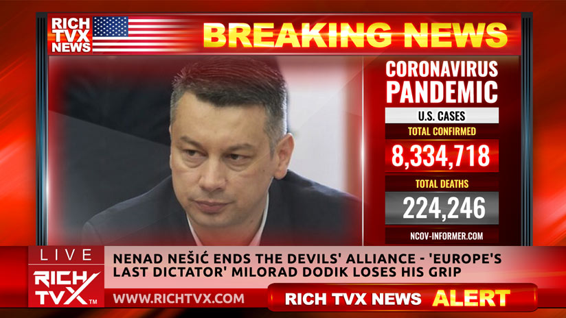 Nenad Nešić Ends The Devils' Alliance – 'Europe's Last Dictator' Milorad Dodik Loses His Grip
