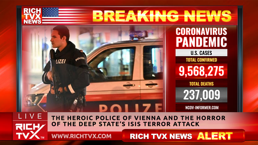 The Heroic Police of Vienna And The Horror Of The Deep State's ISIS Terror Attack