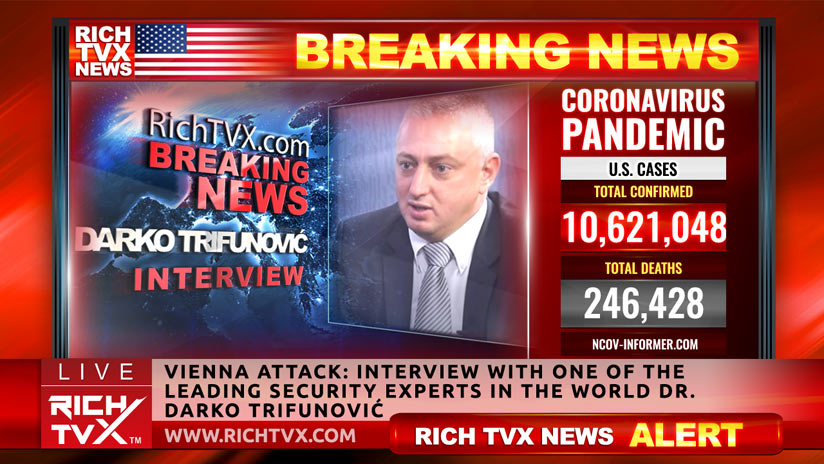 Vienna Attack: Interview With One Of The Leading Security Experts In The World Dr. Darko Trifunović