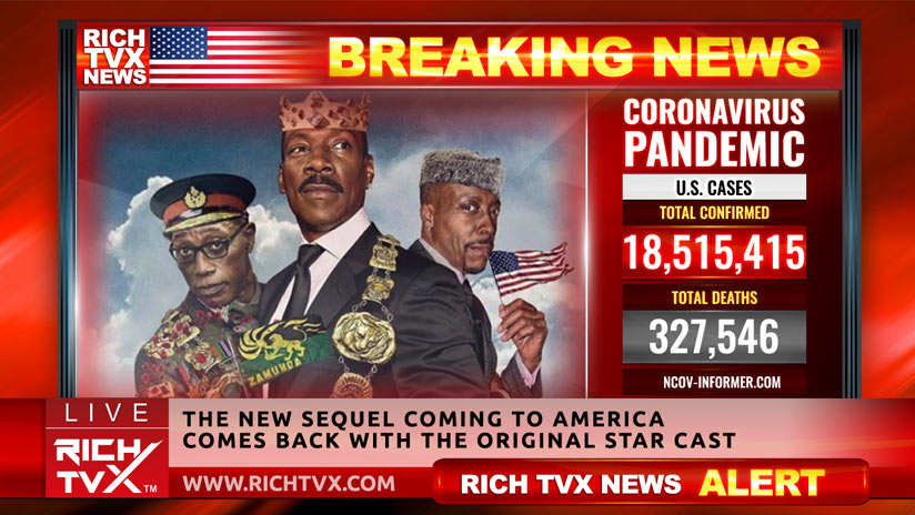Coming 2 America – Official Trailer