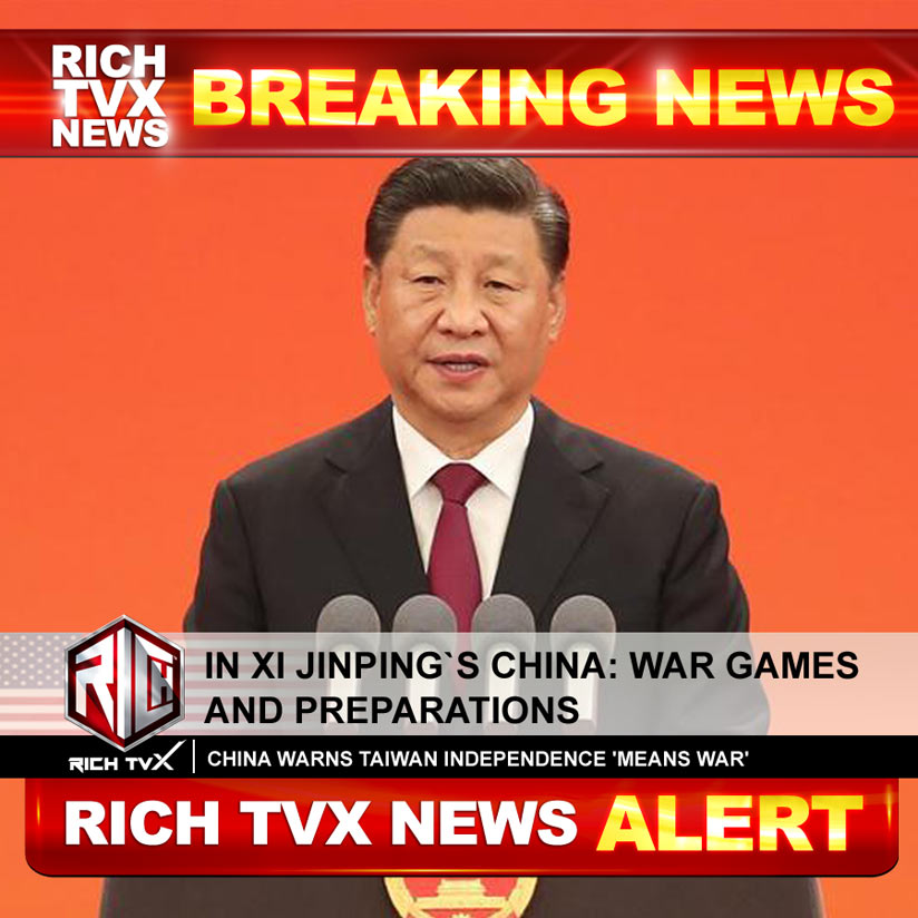 In Xi Jinping`s China: War Games And Preparations