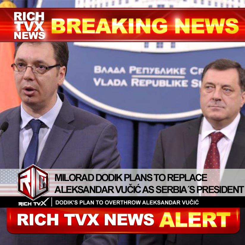 Milorad Dodik Plans To Replace Aleksandar Vučić As Serbia´s President