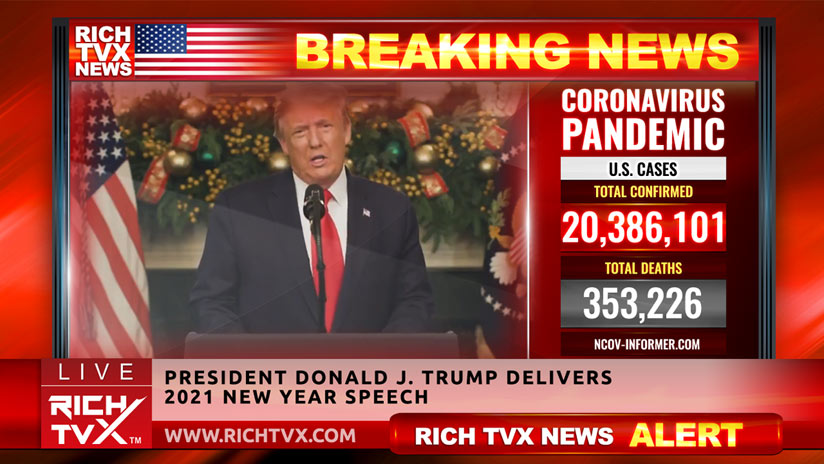 President Donald J. Trump Delivers 2021 New Year Speech