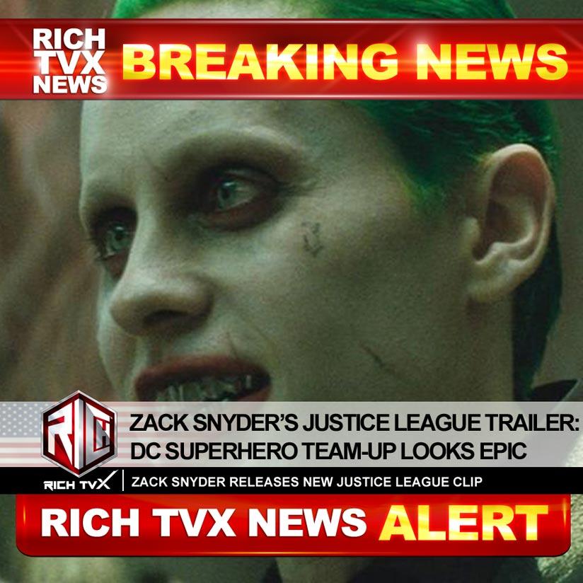 Zack Snyder's Justice League Trailer: DC Superhero Team-Up Looks Epic