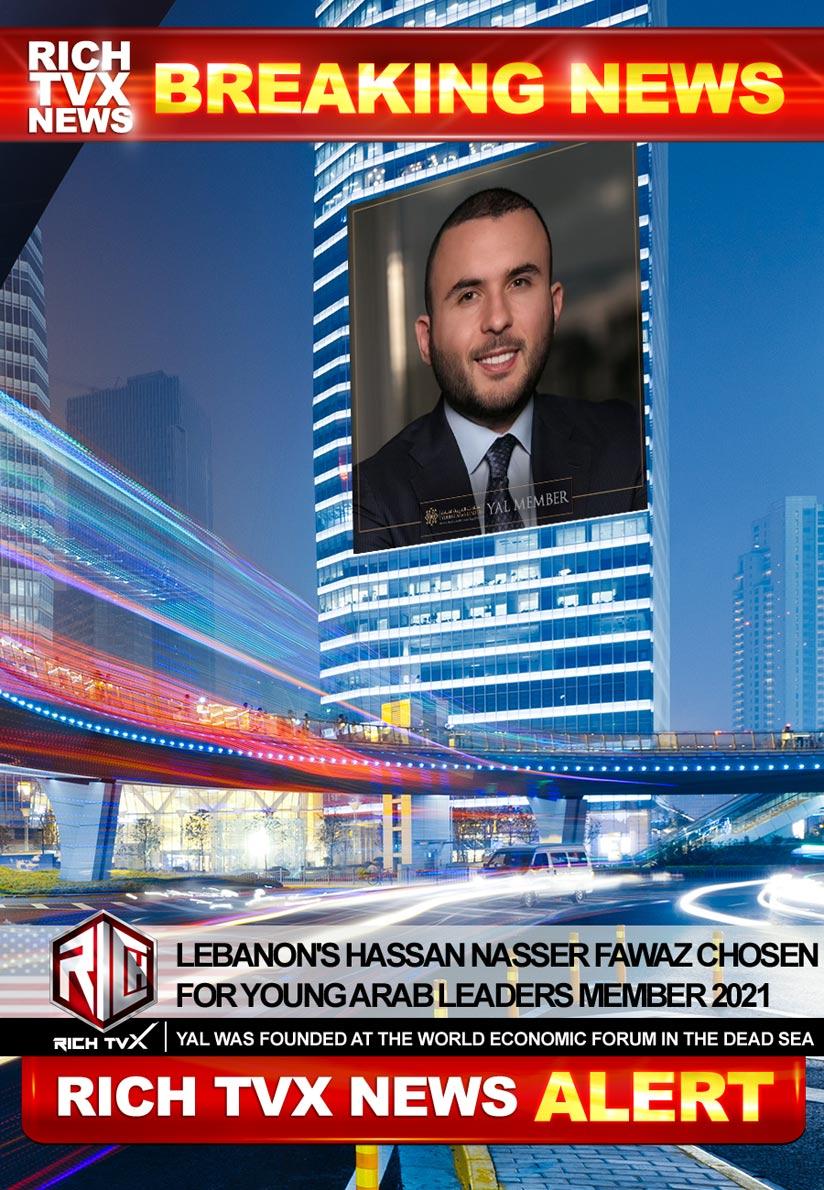 Lebanon's Hassan Nasser Fawaz Chosen For Young Arab Leaders Member 2021