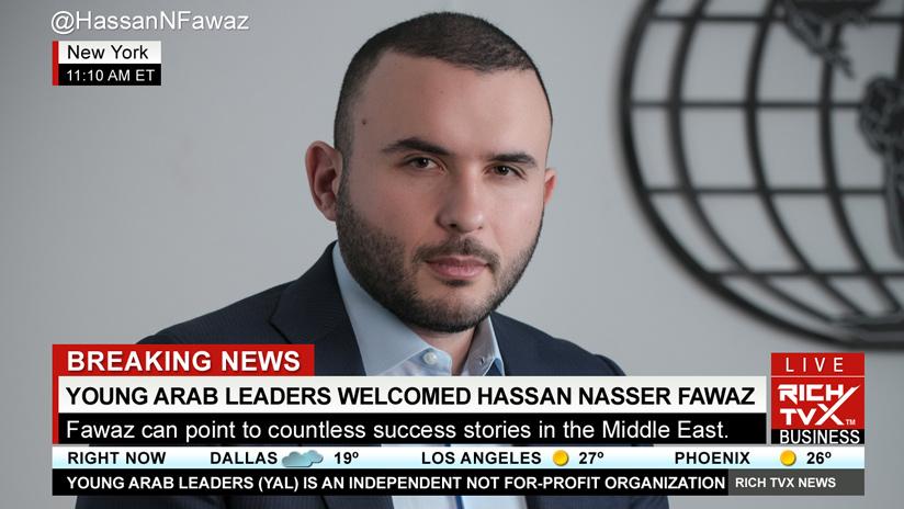 Lebanon's Hassan Nasser Fawaz Chosen For YAL Member 2021