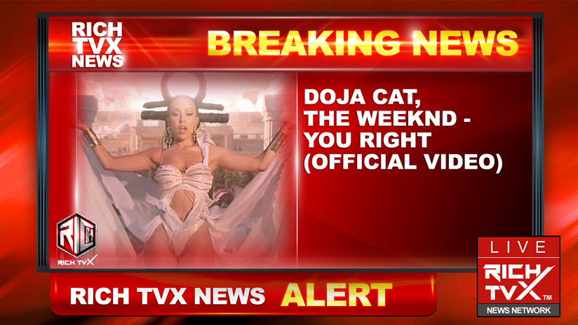 Doja Cat, The Weeknd – You Right (Official Video)