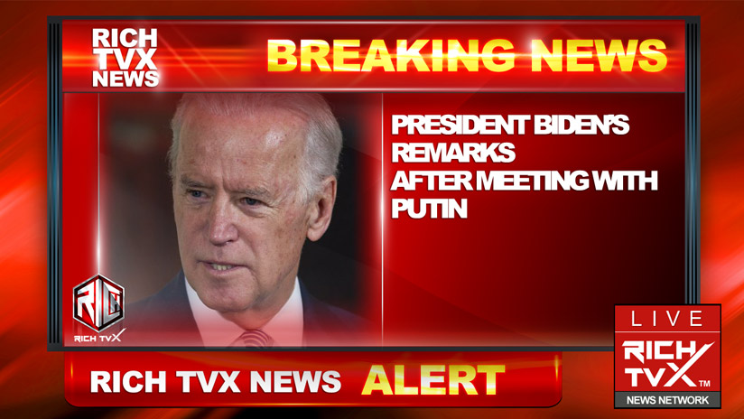 President Biden's Remarks After Meeting With Putin