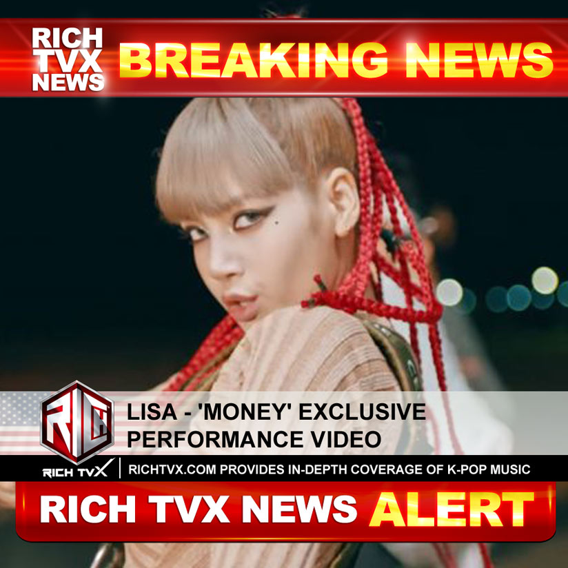 Lisa – 'Money' Exclusive Performance Video
