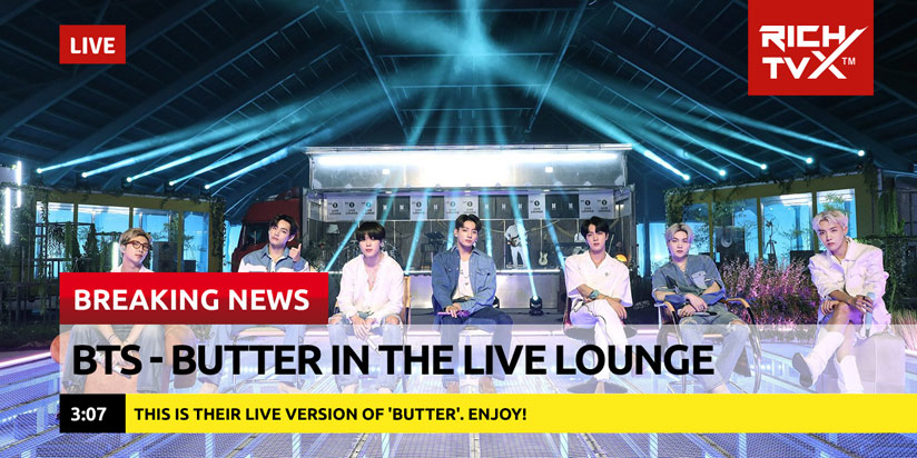 BTS – Butter in the Live Lounge