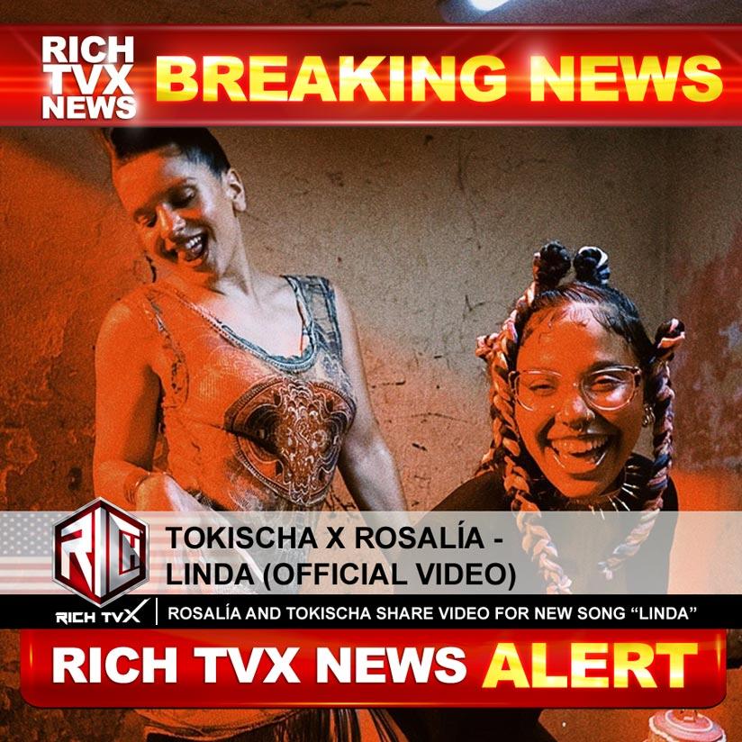 Tokischa x ROSALÍA – Linda (Official Video)