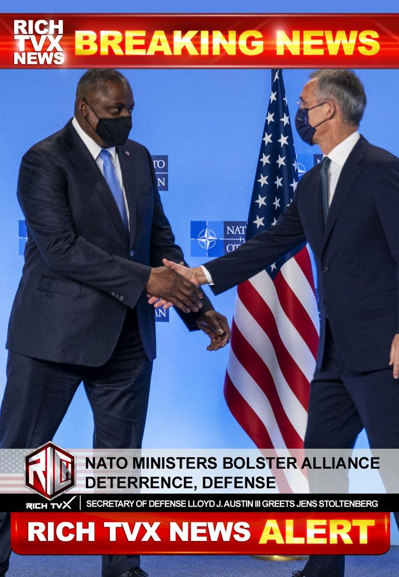 NATO Ministers Bolster Alliance Deterrence, Defense
